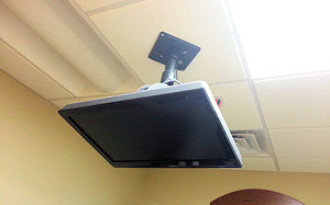 Celing Mounted Monitor